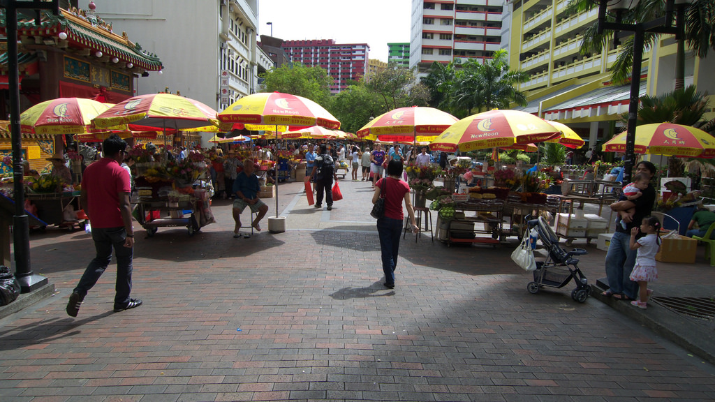 Off the Beaten Track in Bras Basah.Bugis