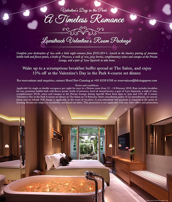 A Timeless Romance Valentine S Day In The Park Lovestruck Valentine S Room Package