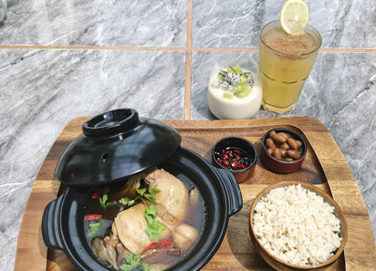 Bak Ku Teh, Chicken