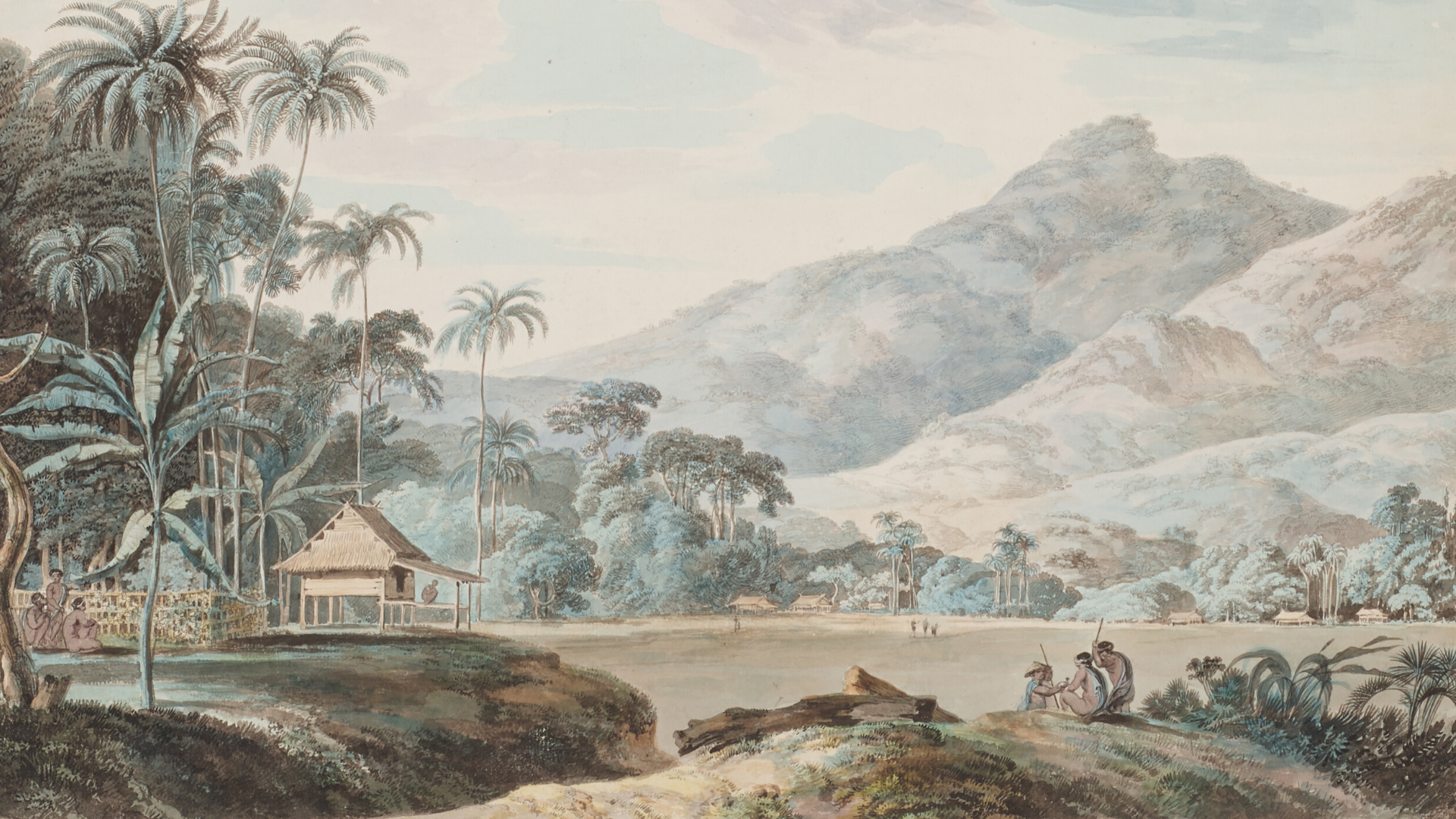 Near Eucheconing on the Island of Java, late 18th century