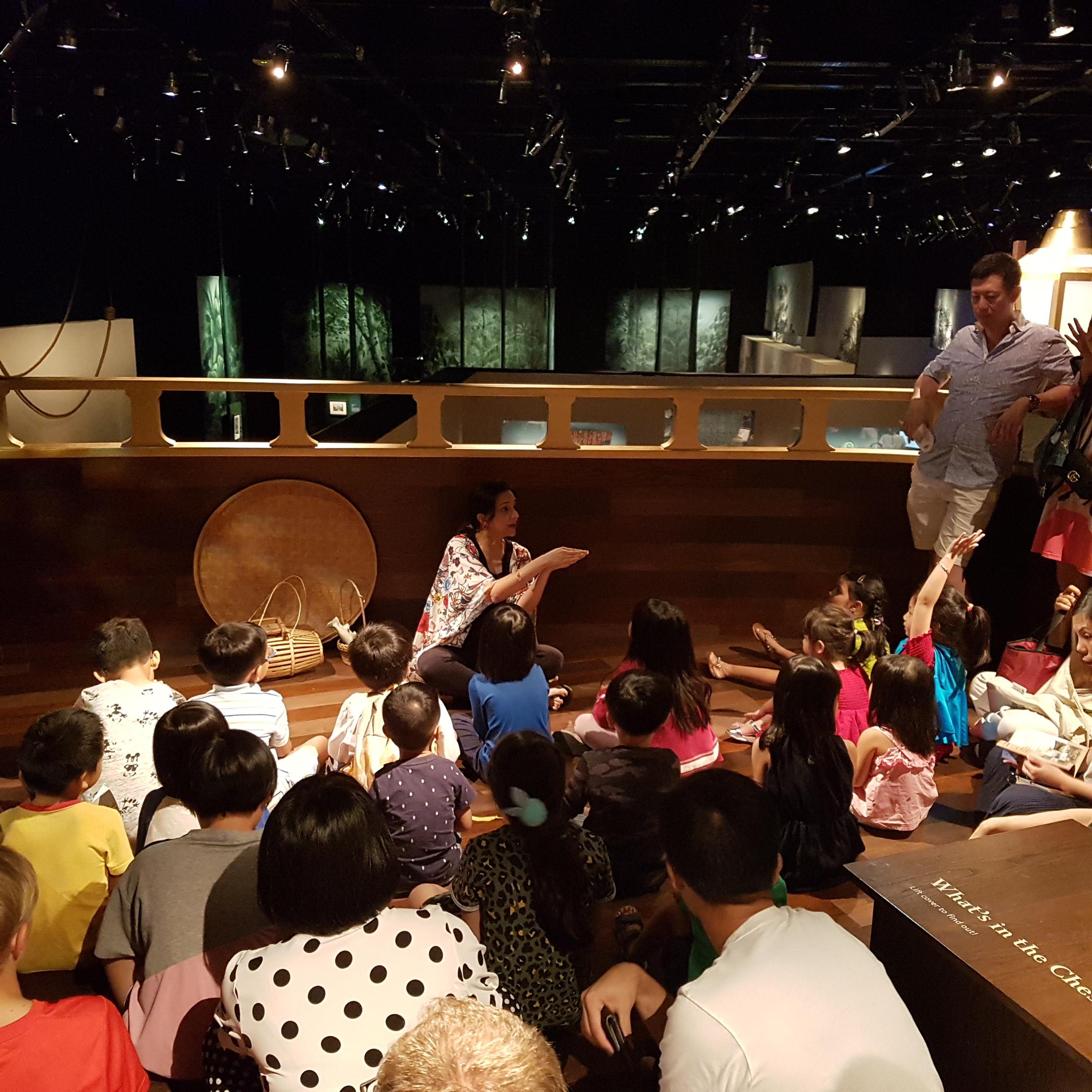 storytelling orang laut tales