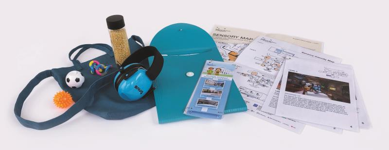 Sensory Bag with items