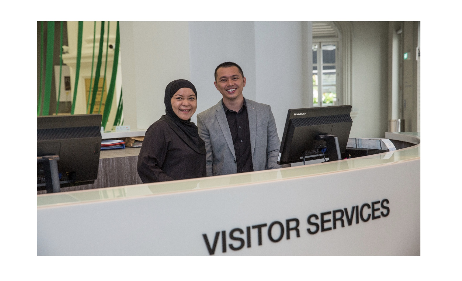 Accessibilty Banner, Visitor Services
